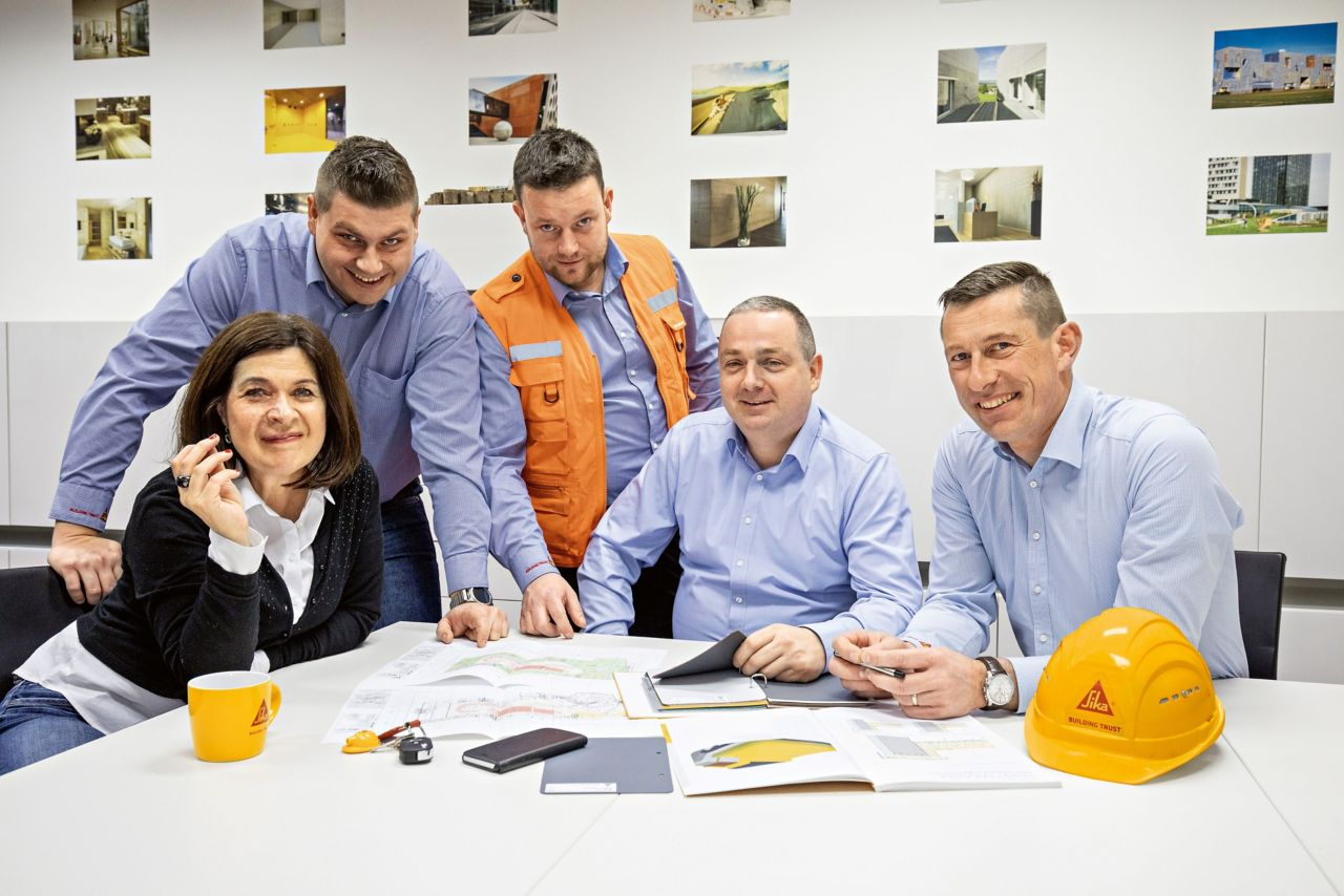 Sika Slovenia – Team Waterproofing and Roofing