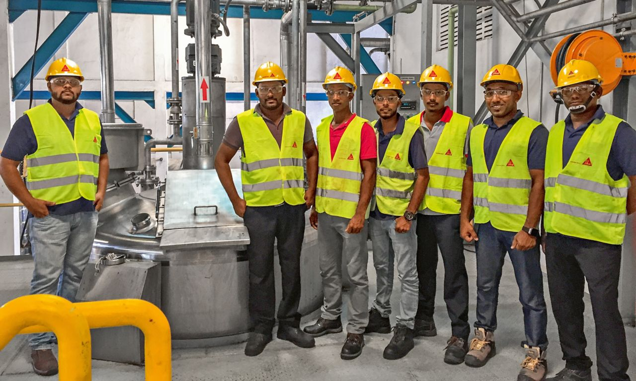 Sika Sri Lanka – Team Production