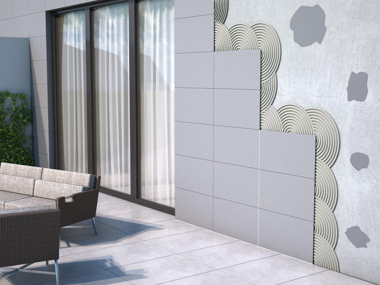 设置在门面的铺磁砖的例证在家庭大阳台