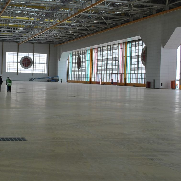 Turkish Airlines HABOM Hangar