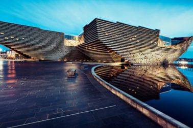V&A Dundee Design Museum in Dundee, Scotland