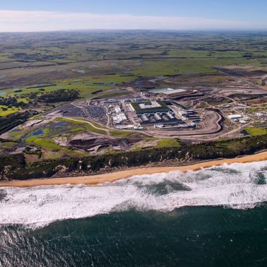 Victorian Desalination Plant in Dalyston Australia
