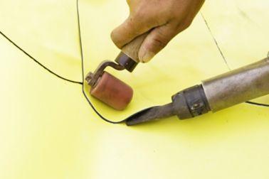 防水板膜的手工焊接