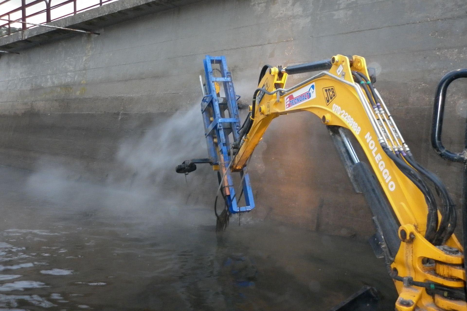 Refurbishment of Water Channel Flumendosa in Sardinia, Italy