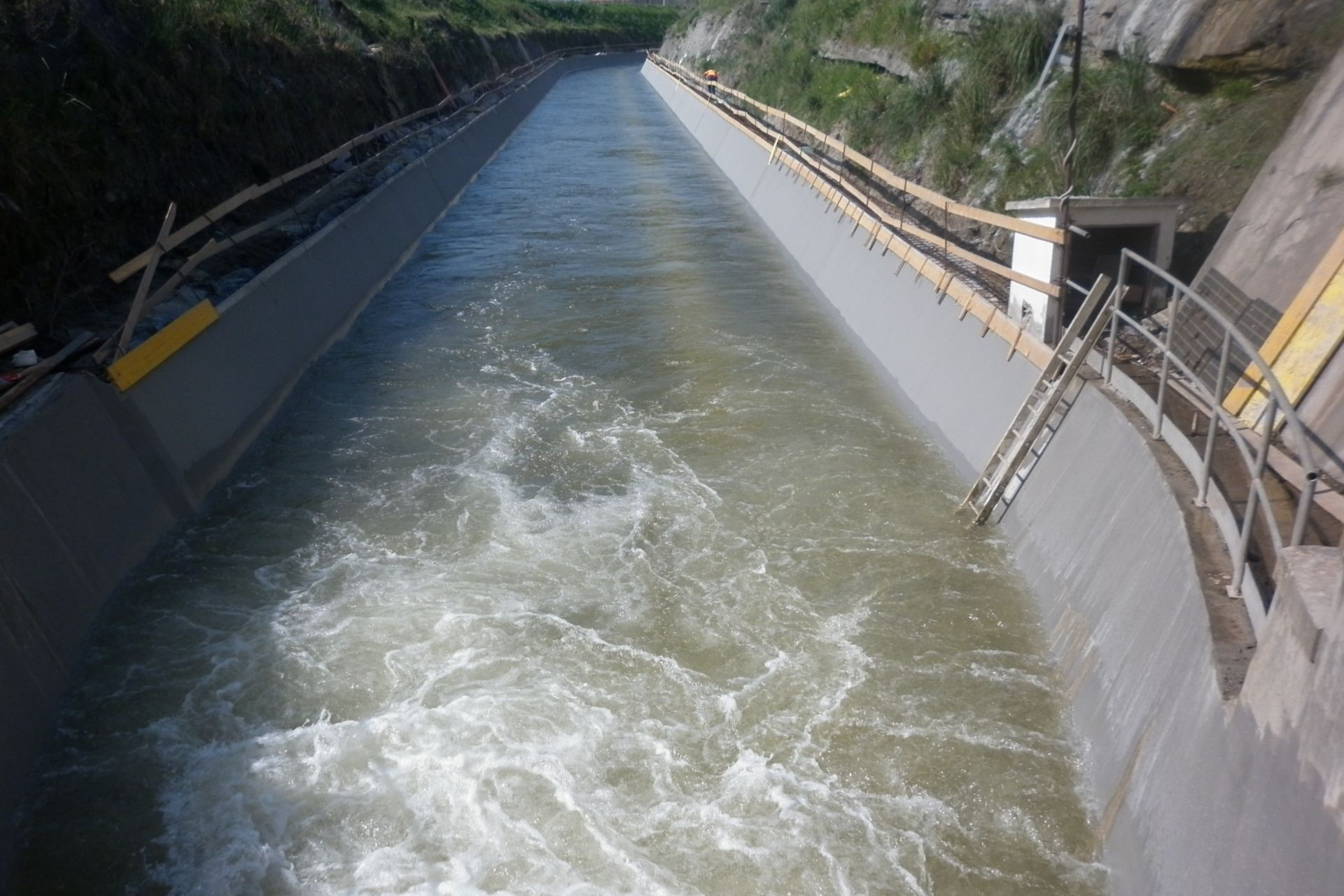 Refurbishment of Water Channel Flumendosa in Sardinia, Italy