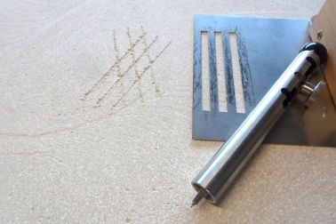 Screed evaluation method: Cross-hatch testing for surface strength