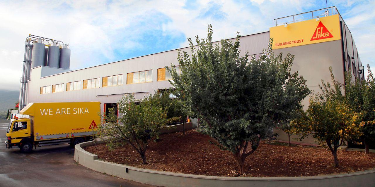 Sika Hellas εργοστάσιο παραγωγής κονιαμάτων Αθήνα