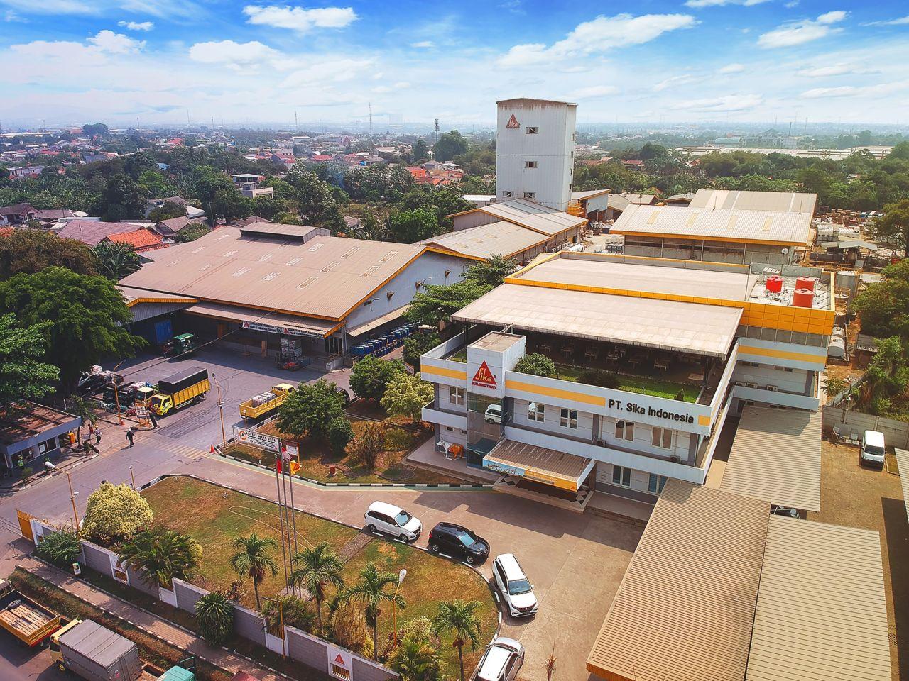Sika Indonesia Plant Cileungsi - Bogor