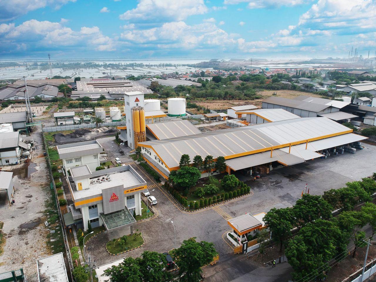Sika Indonesia Plant Gresik - Surabaya