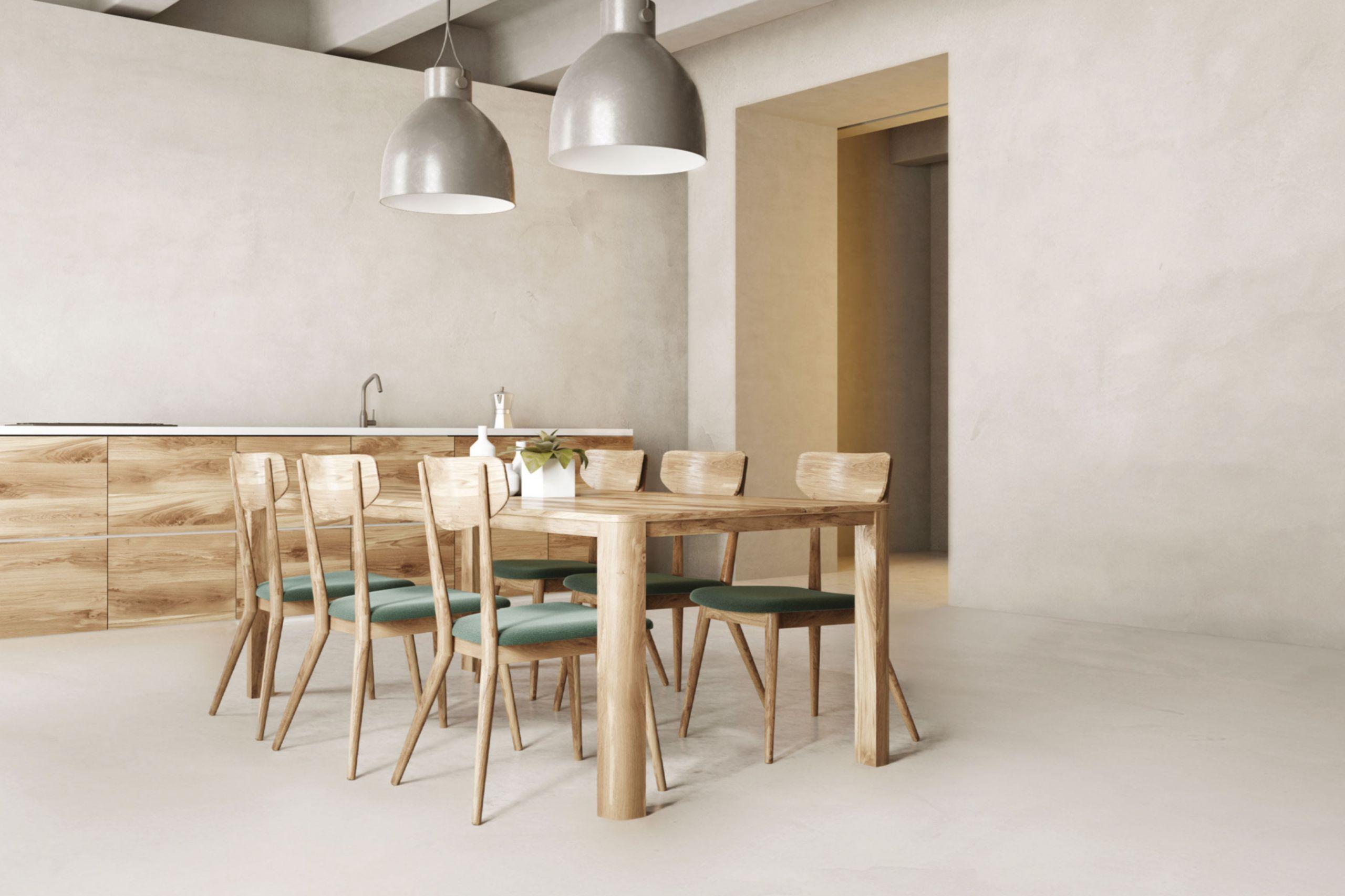 Pareti e pavimenti sala da pranzo in microcemento