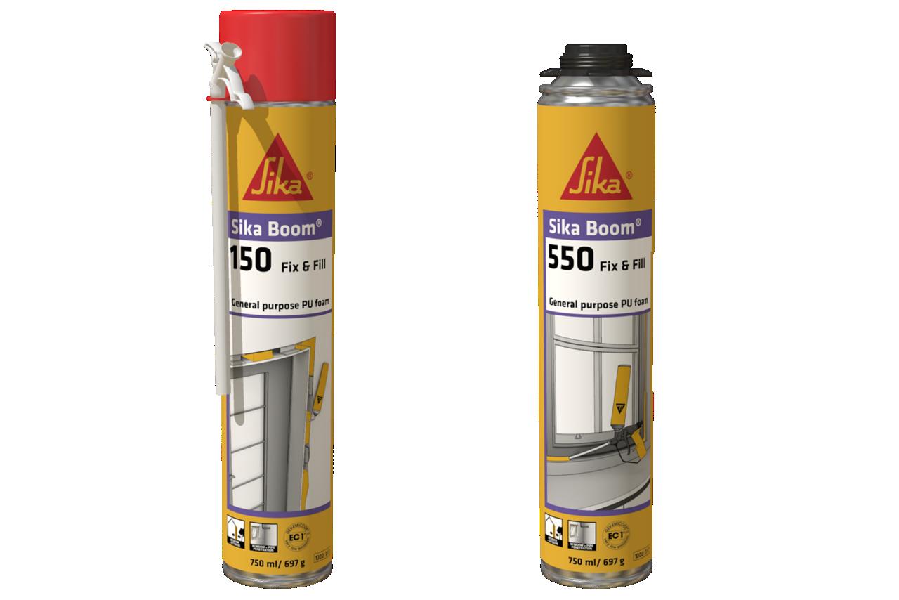 Packaging gamma schiume Sika Boom Fix & Fill