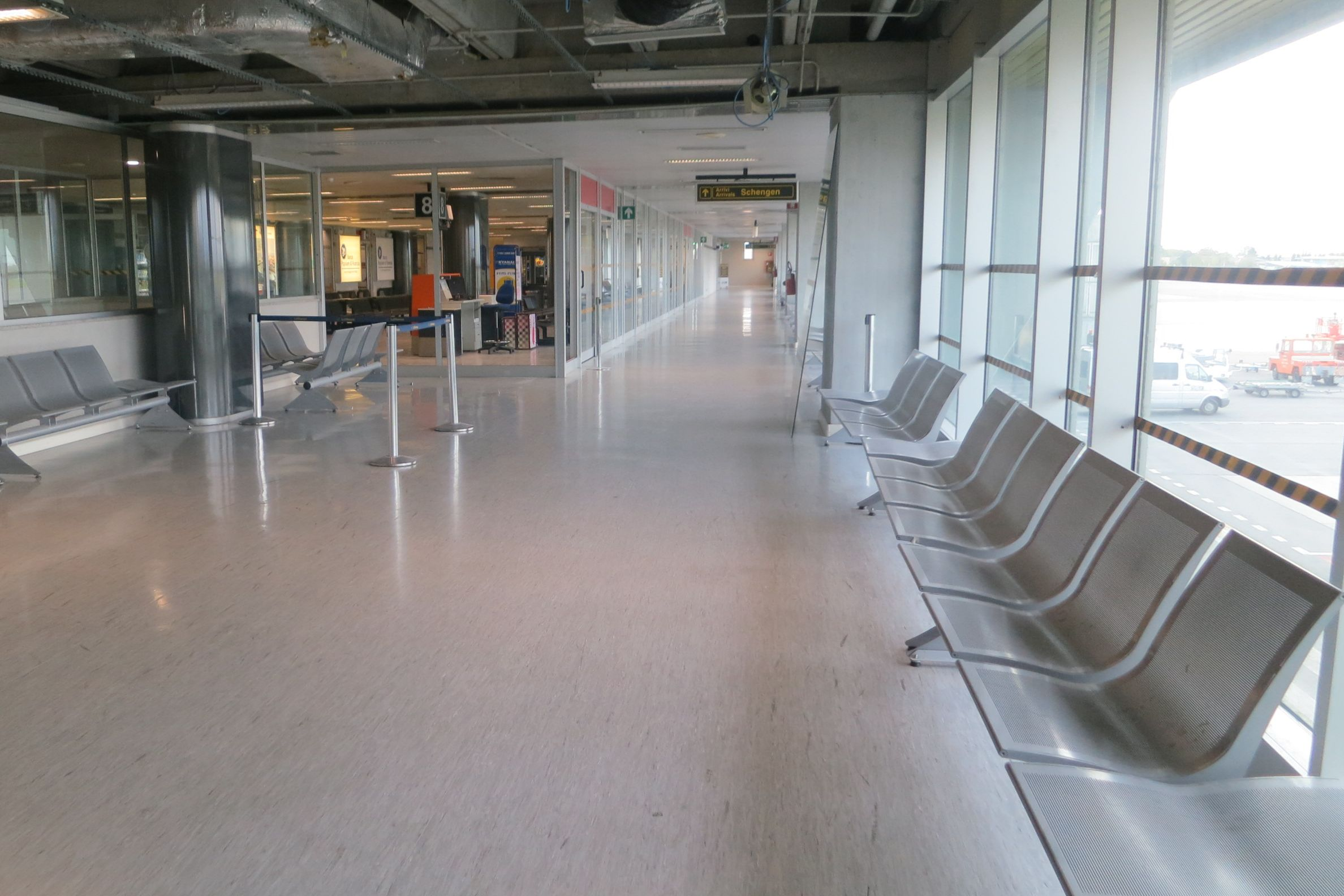 Trieste Airport Waiting Area