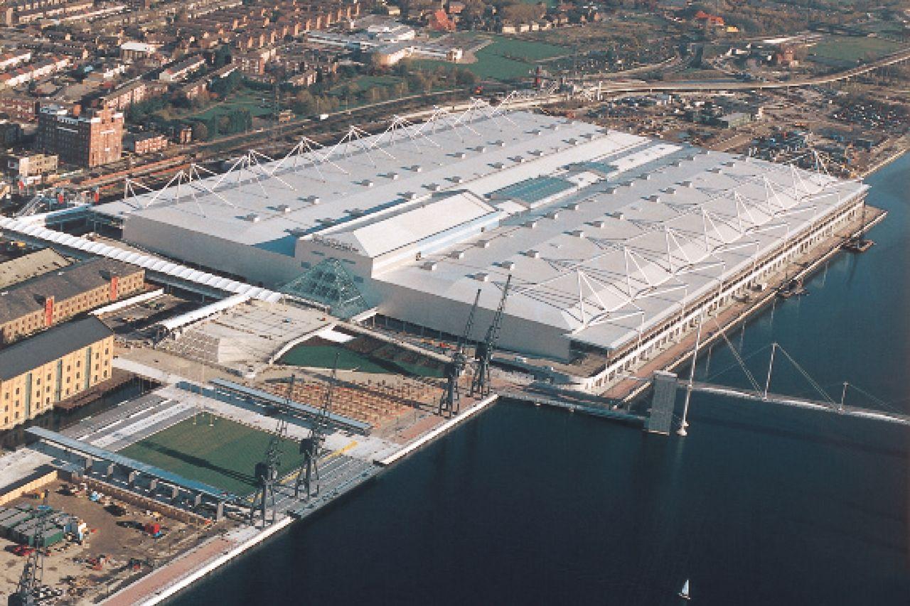 Copertura a vista di edifici commerciali/industriali
