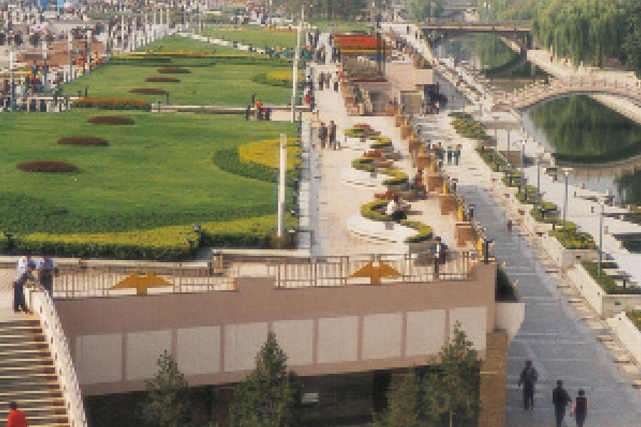Tetto verde di scuole, ospedali, edifici pubblici