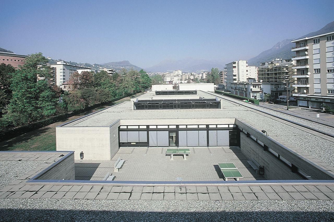 Copertura praticabile di ospedali, scuole, edifici pubblici