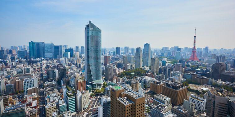 虎ノ門ヒルズ 森タワー(外観)