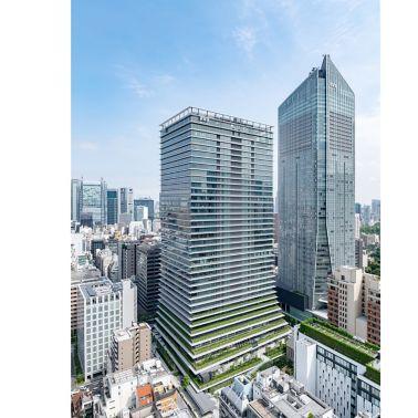 虎ノ門ヒルズ ビジネスタワーの外観