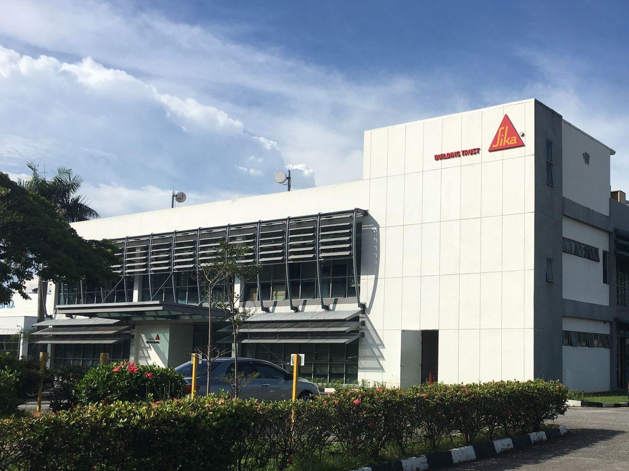 Main office building at HQ of Sika Kimia Sdn Bhd