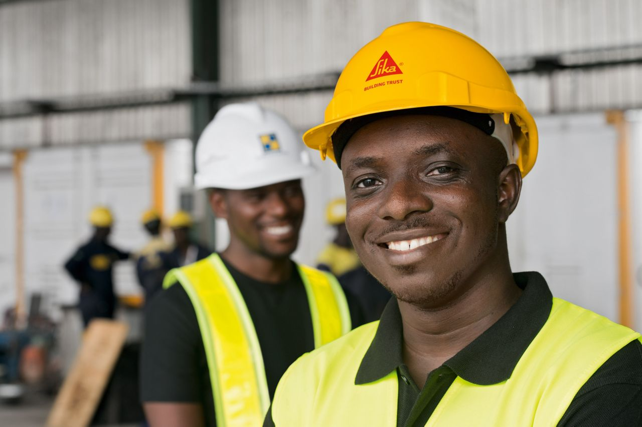 Sika employees in Nigeria