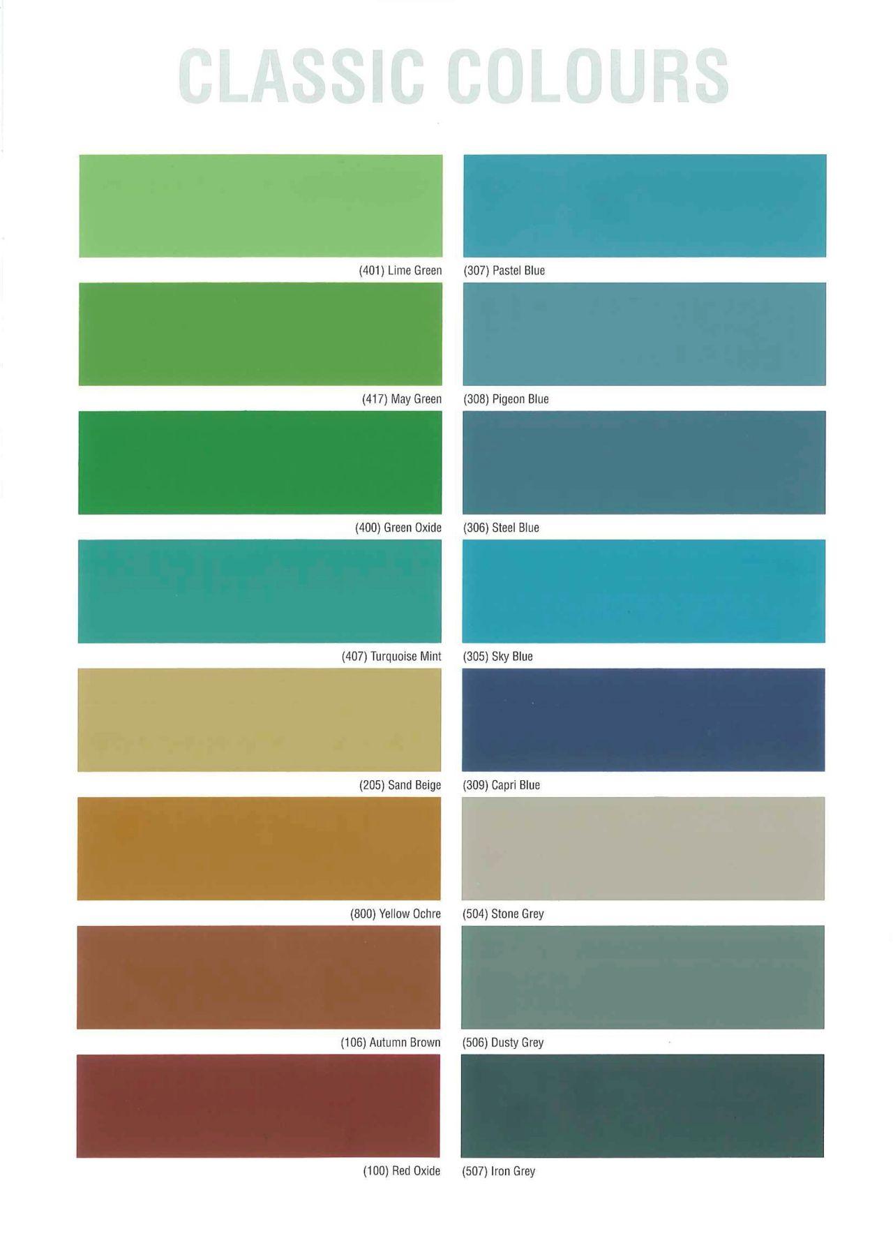 Classic kleuren