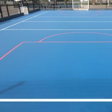 Outdoor court in Zeeland