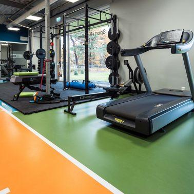 Fitnessvloer