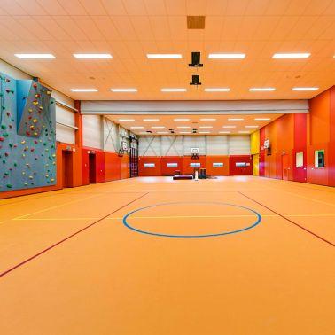 Multifunctionele sportvloer