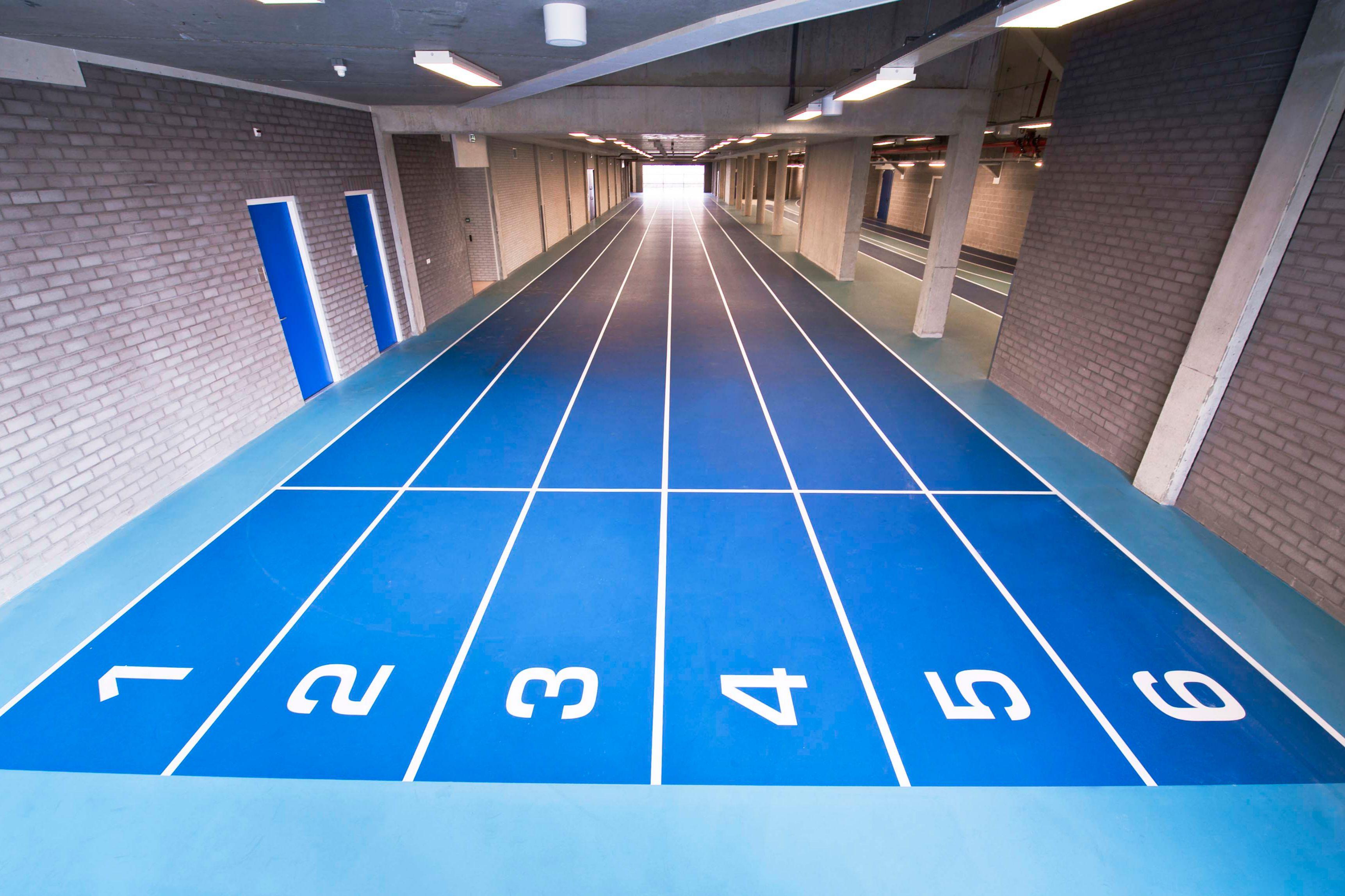 Sportvloer bij Omnisport in Apeldoorn
