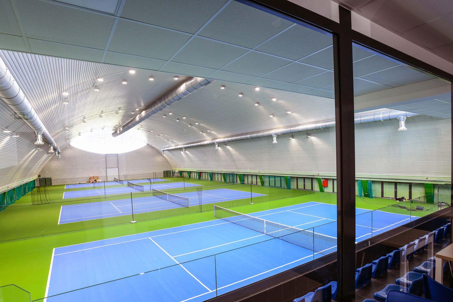 Pulastic tennisvloeren