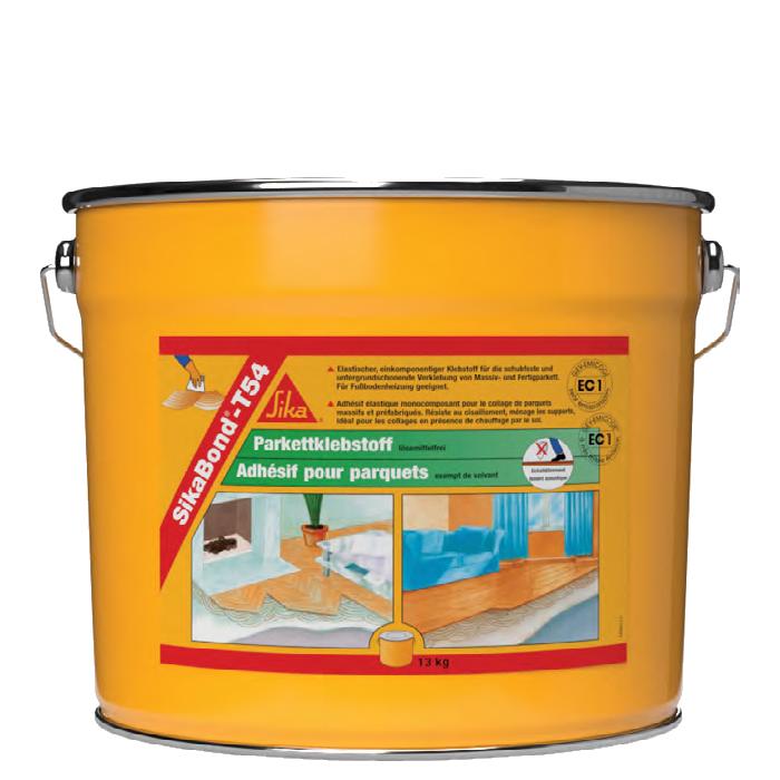 SikaBond®-T54 Parquet | Cola Elástica para pavimentos de madeira