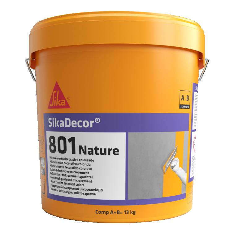 SikaDecor®-801 Nature   Acabamento   Microcimento colorido