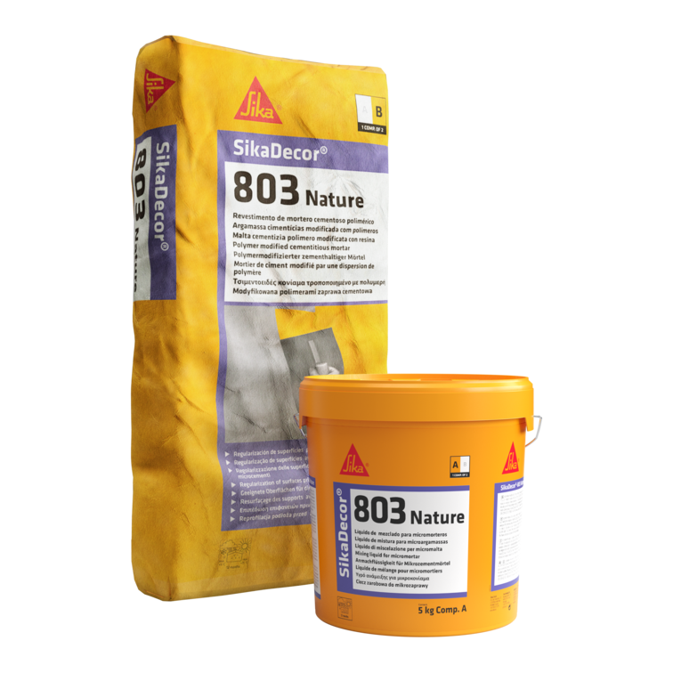 SikaDecor®-803 Nature   Regularização   Microcimento colorido