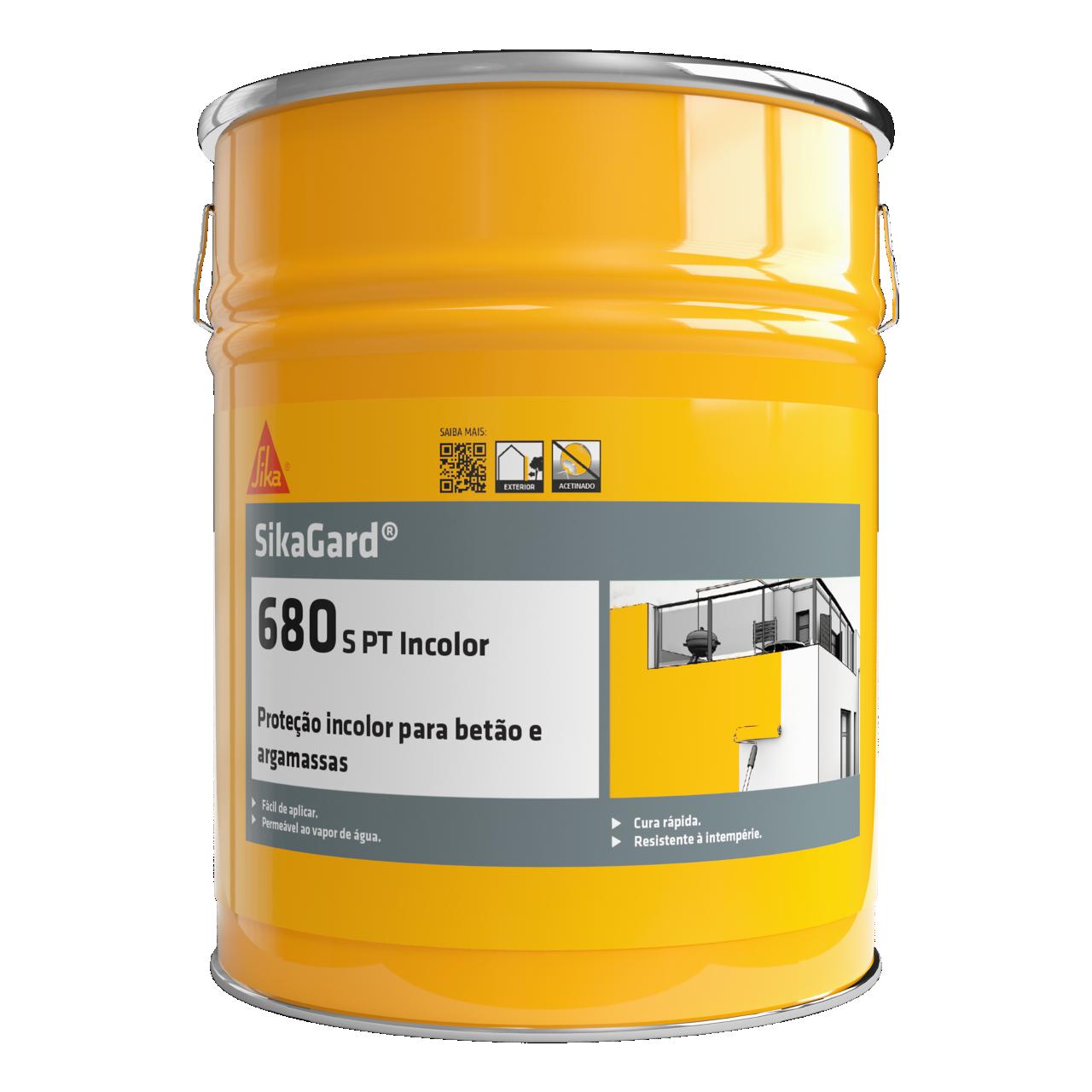 Sikagard®-680 S PT Incolor | Verniz Incolor de Proteção