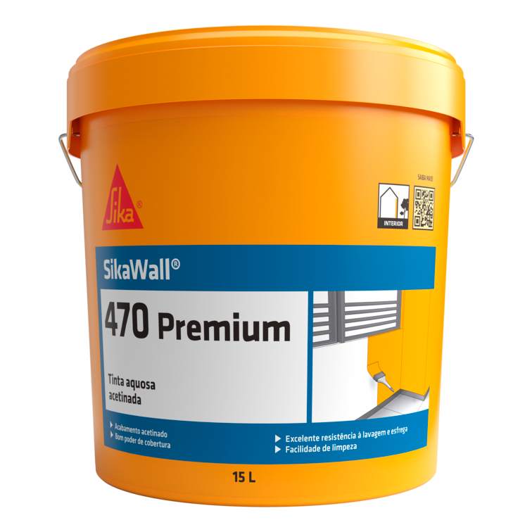 SikaWall®-470 Premium | Pintura interior | Paredes e tectos