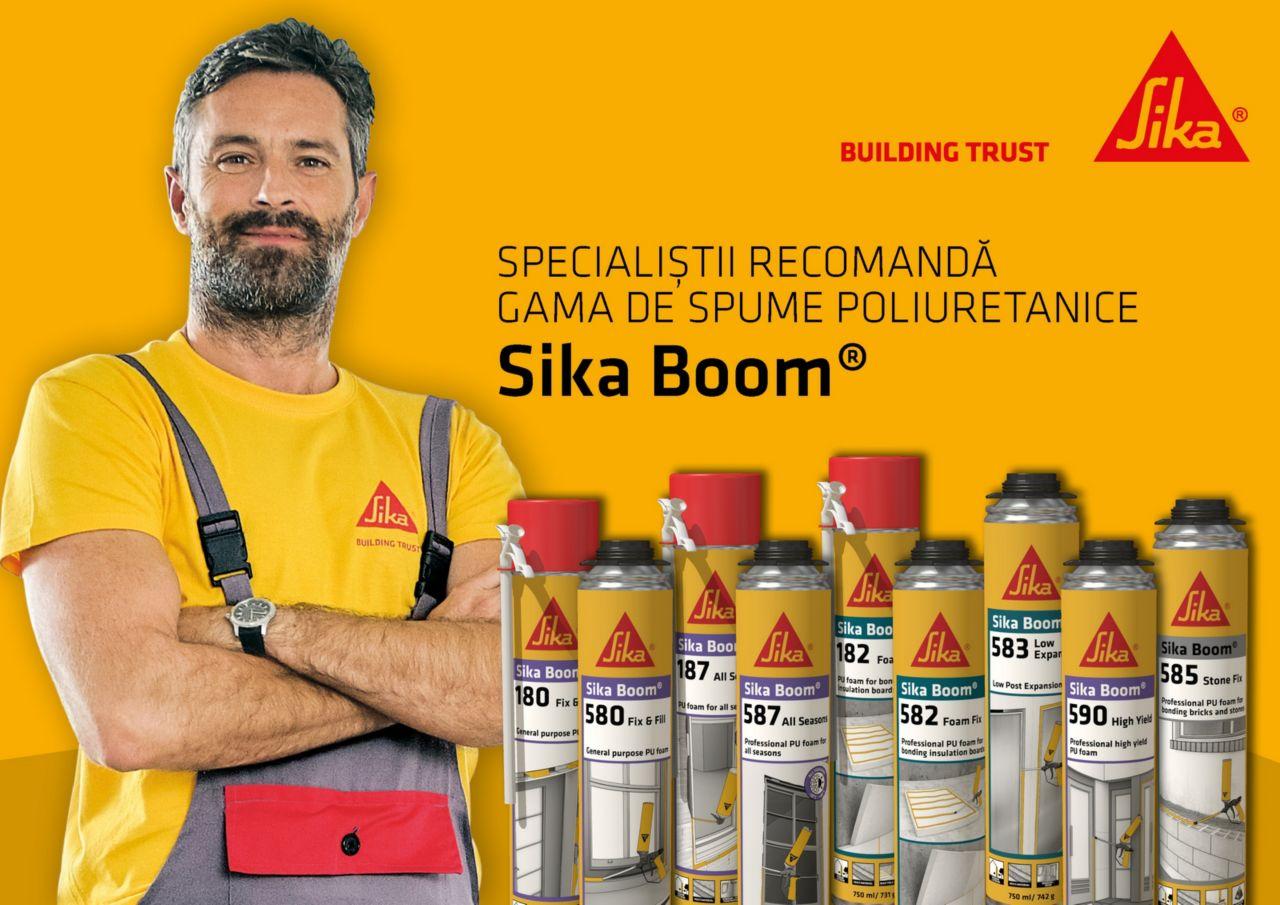 Gama de produse SikaBoom