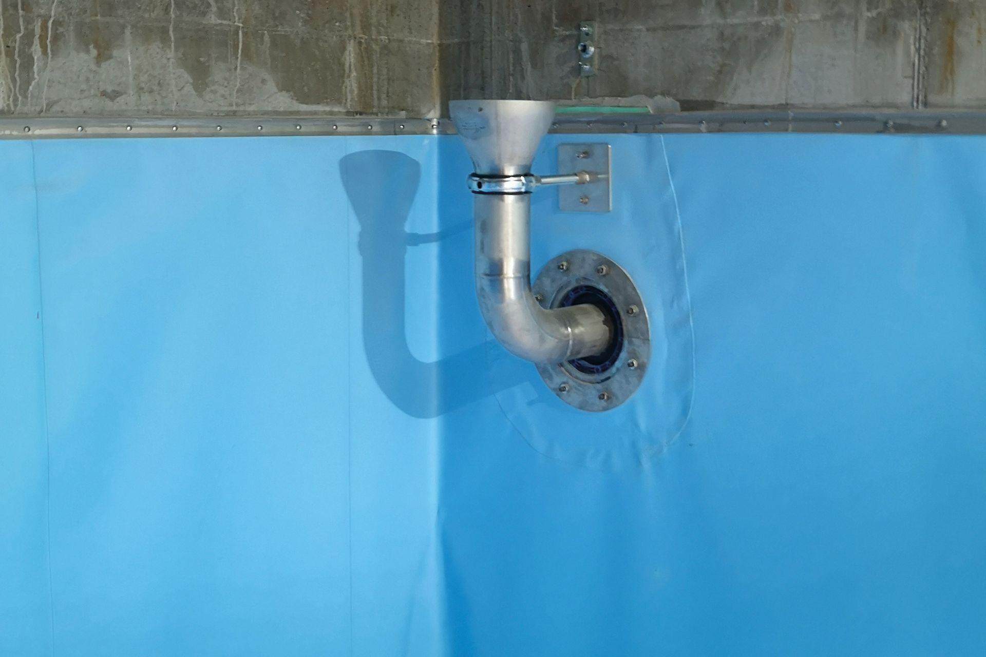 Abdichten von Löschwasser- und Sprinklerbecken, F.Hoffmannn-La Roche AG