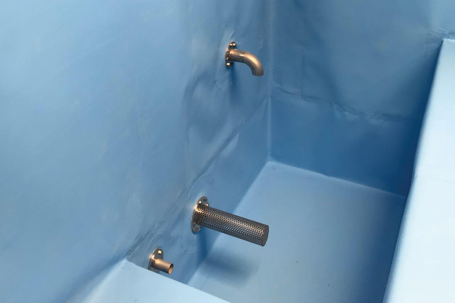 Etanchéité pour réservoir d'eau avec membrane Sikaplan®, SafeHost SA, Gland