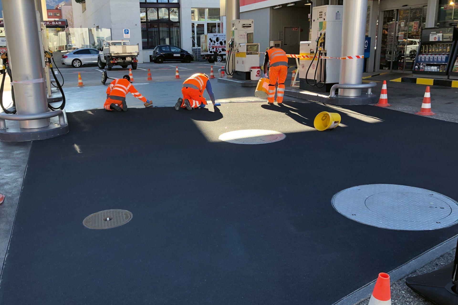 Bodensanierung von Tankstellen-Standplätzen