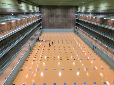 Industrieböden für höchste Ansprüche, ZWILAG Zwischenlager Würenlingen AG