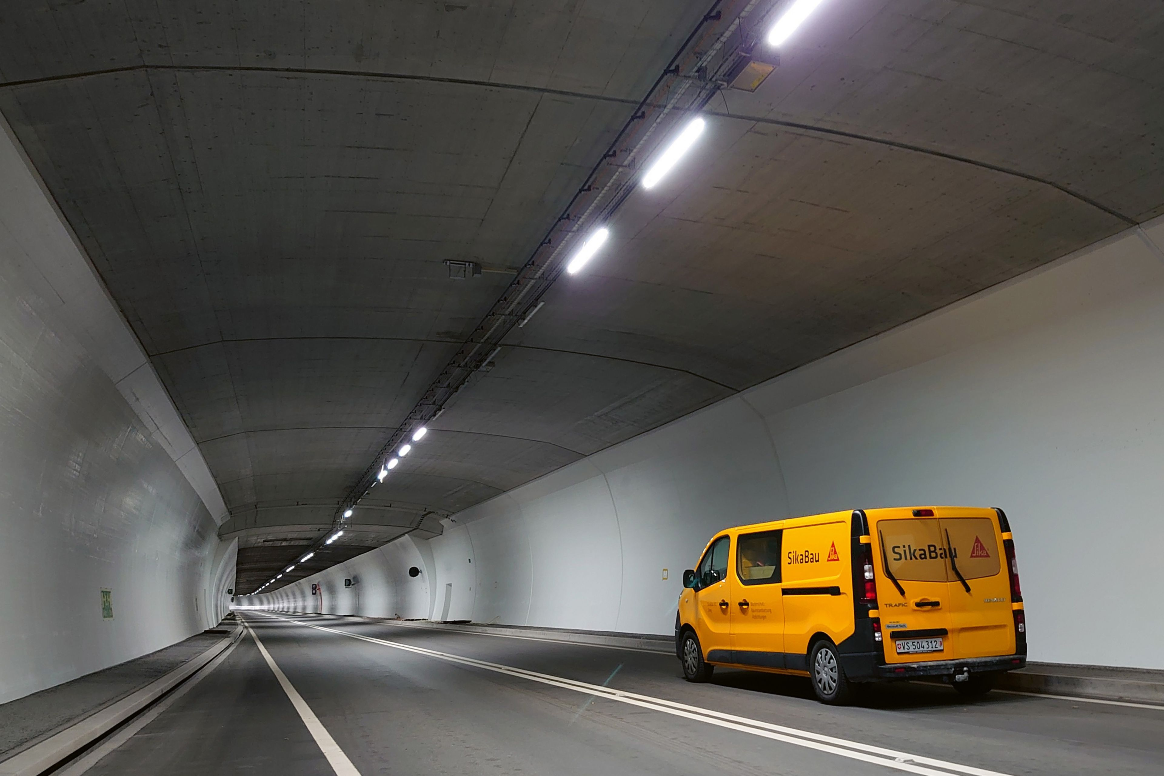 Oberflächenschutzsysteme für den Tunnelbau