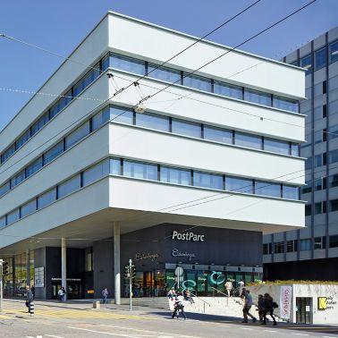 Rutschfeste Bodenbeschichtung PostParc Bern
