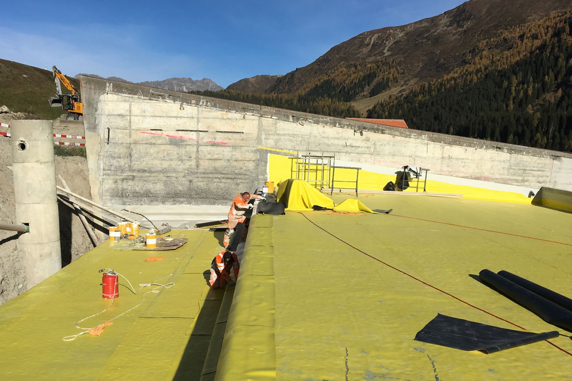 Lawinengalerie Salezertobel, Davos