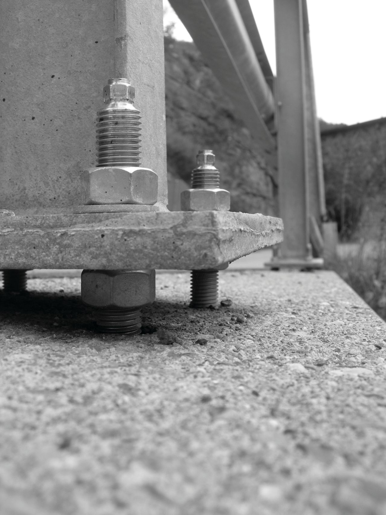 Bultning gruva mekanisk infästning
