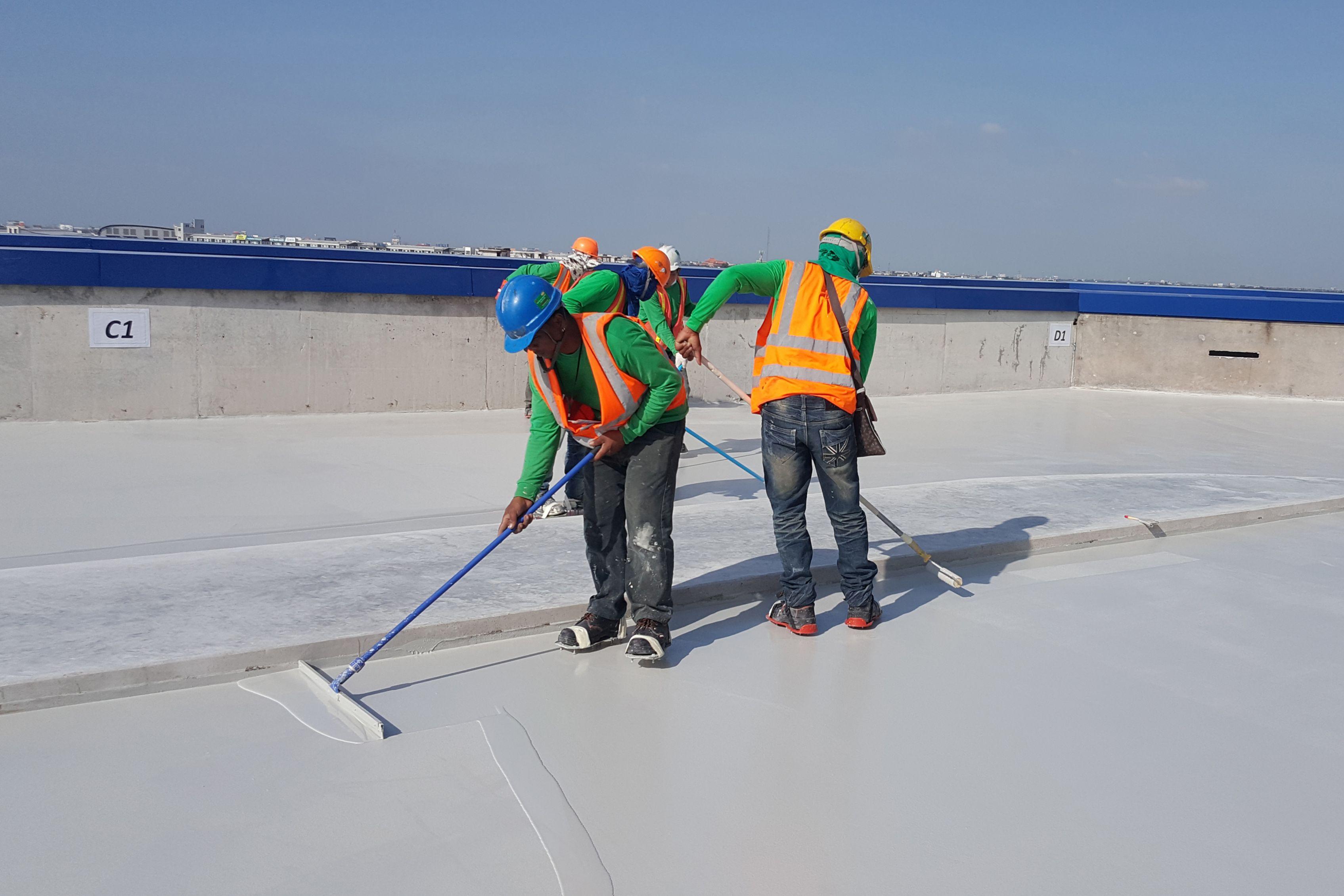 IKEA Bangyai polyurethane coating for car park deck