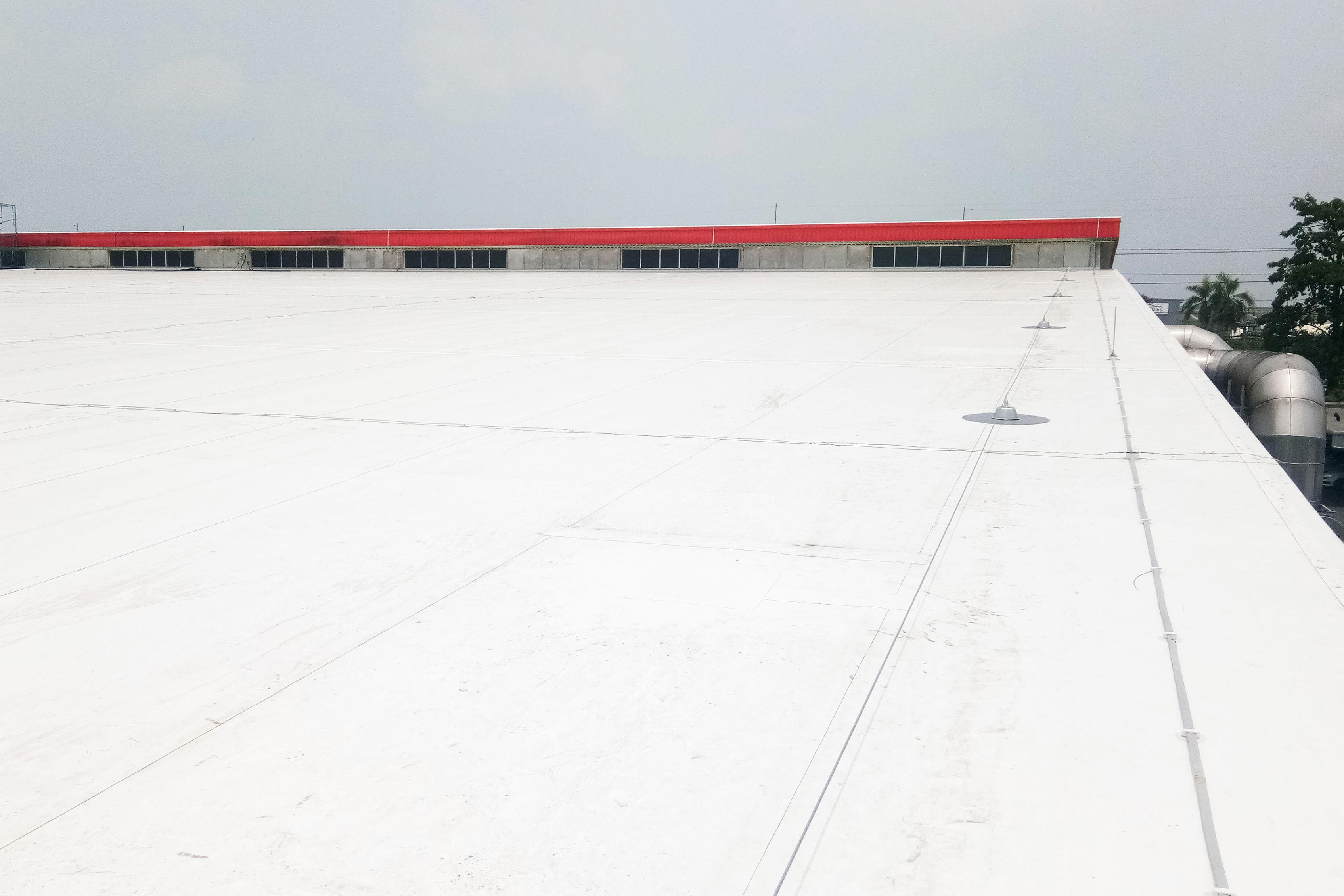 Kellogg roof refurbishment