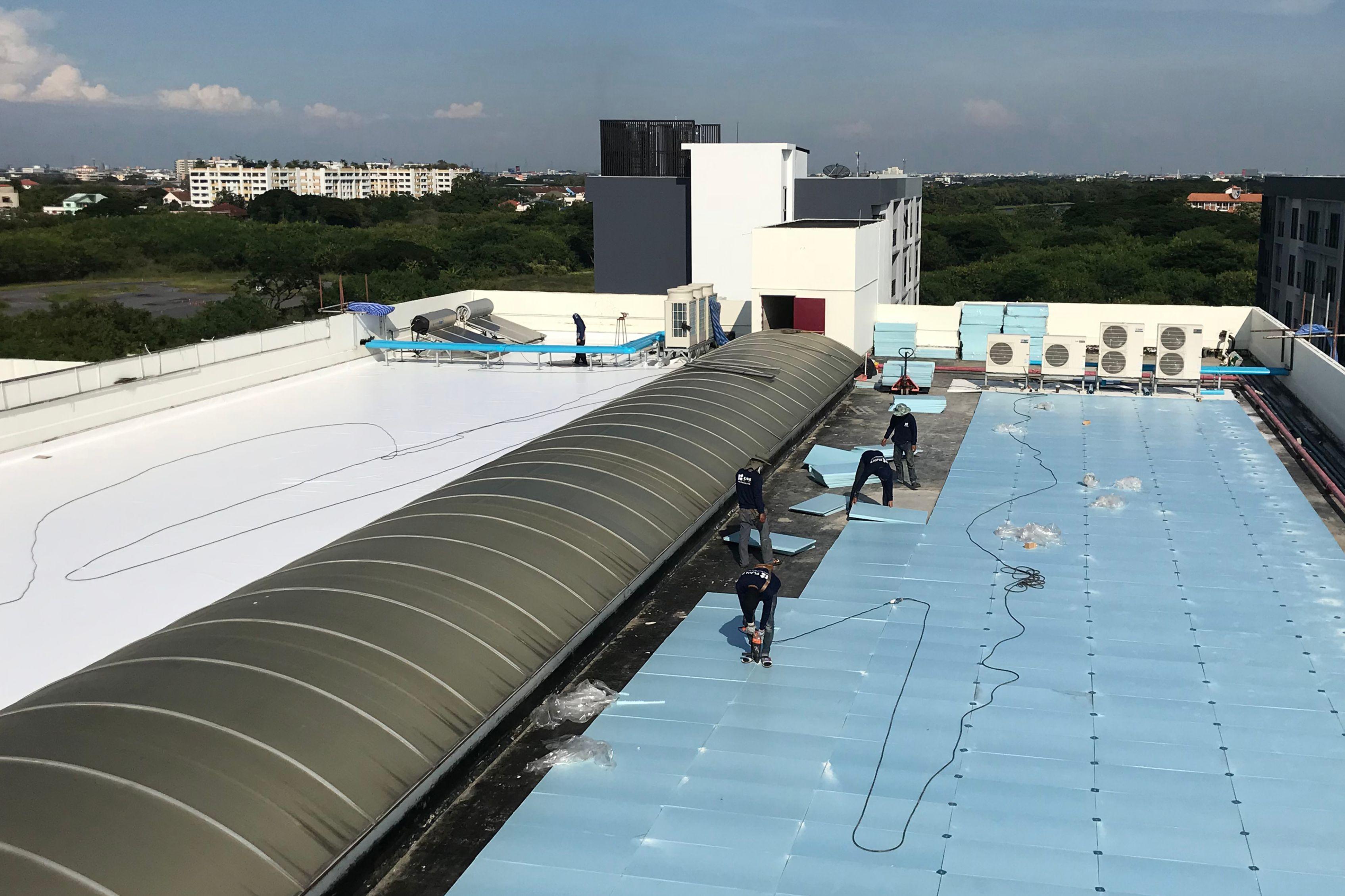 Dusit Thani College Refurbishment with Sarnafil Roof