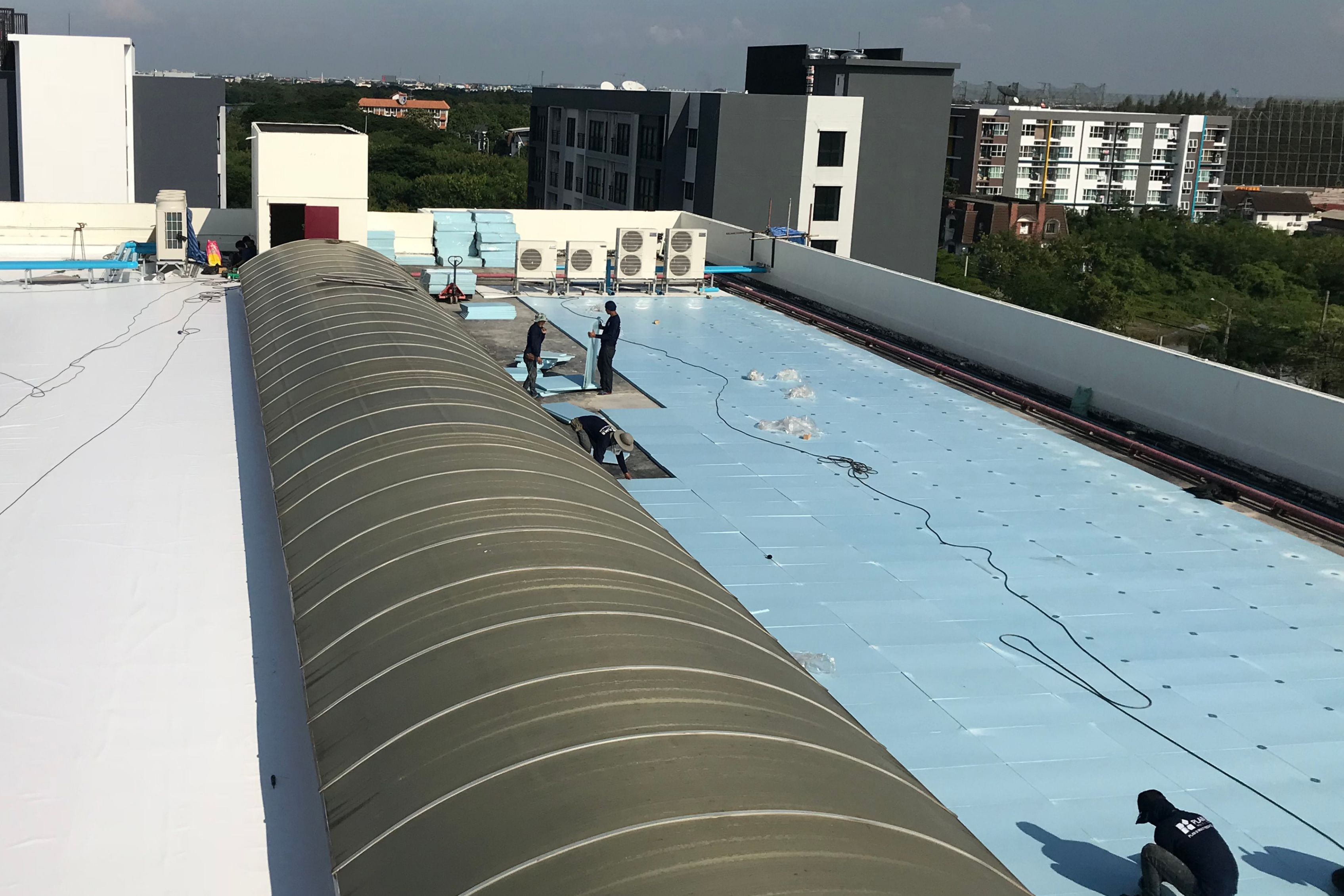 Dusit Thani College Sarnafil Roofing