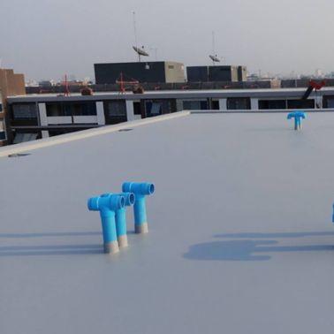 Atmoz Condominium using Sika LAM solution for concrete roof