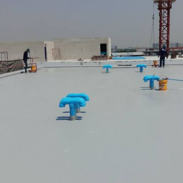 Atmoz Ladprao 71 applied LAM to new concrete roof