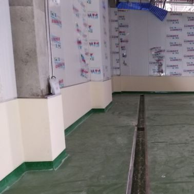 Ajinomoto saraburi refurbishment floor with polyurethane modified